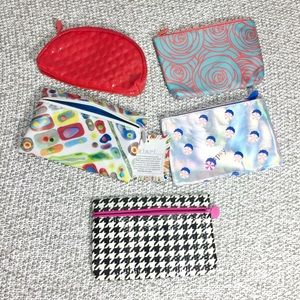 NWT ipsy makeup bags bundle [ set of 5 ]